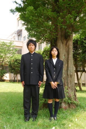 船橋啓明高等学校制服画像